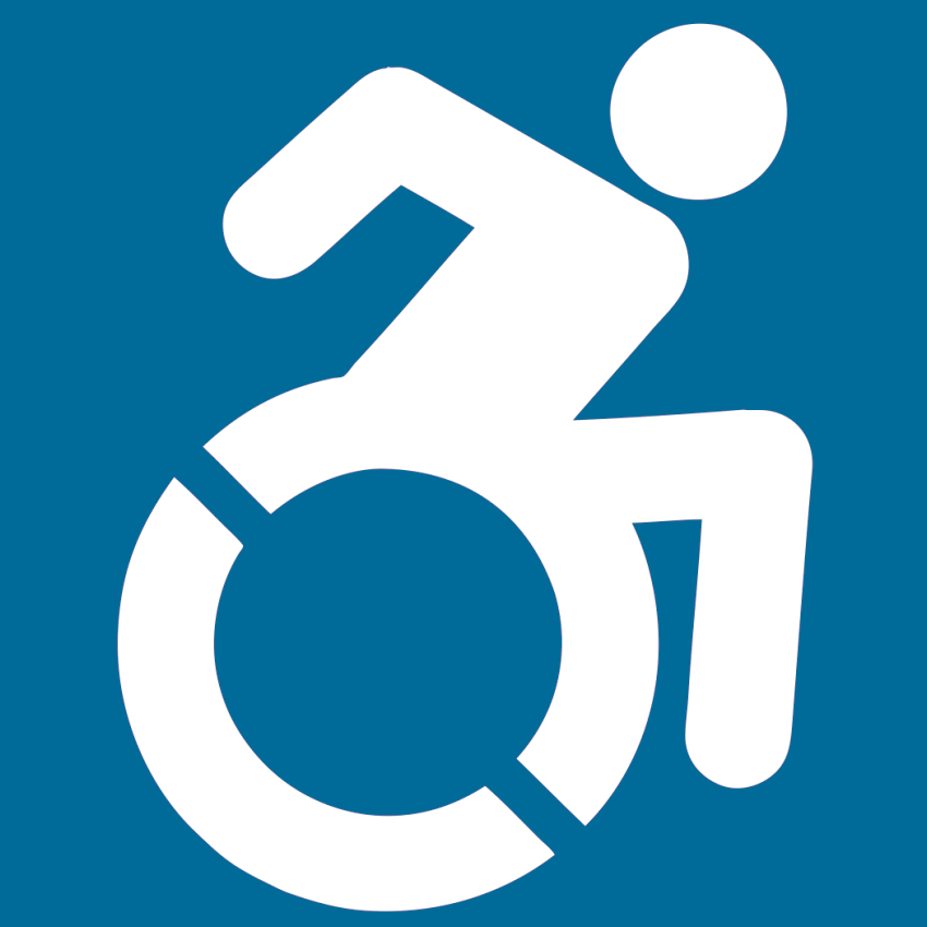 Modified International Symbol of Accessibility